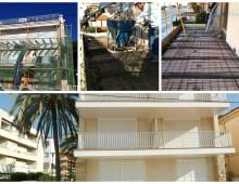 Rehabilitación fachada Escorsell