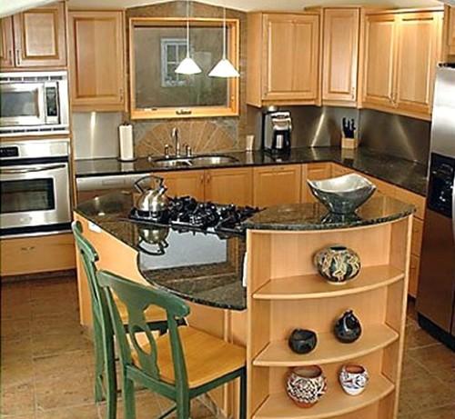 Reformar una cocina y montar una isla en poco espacio for Cocina comedor en poco espacio