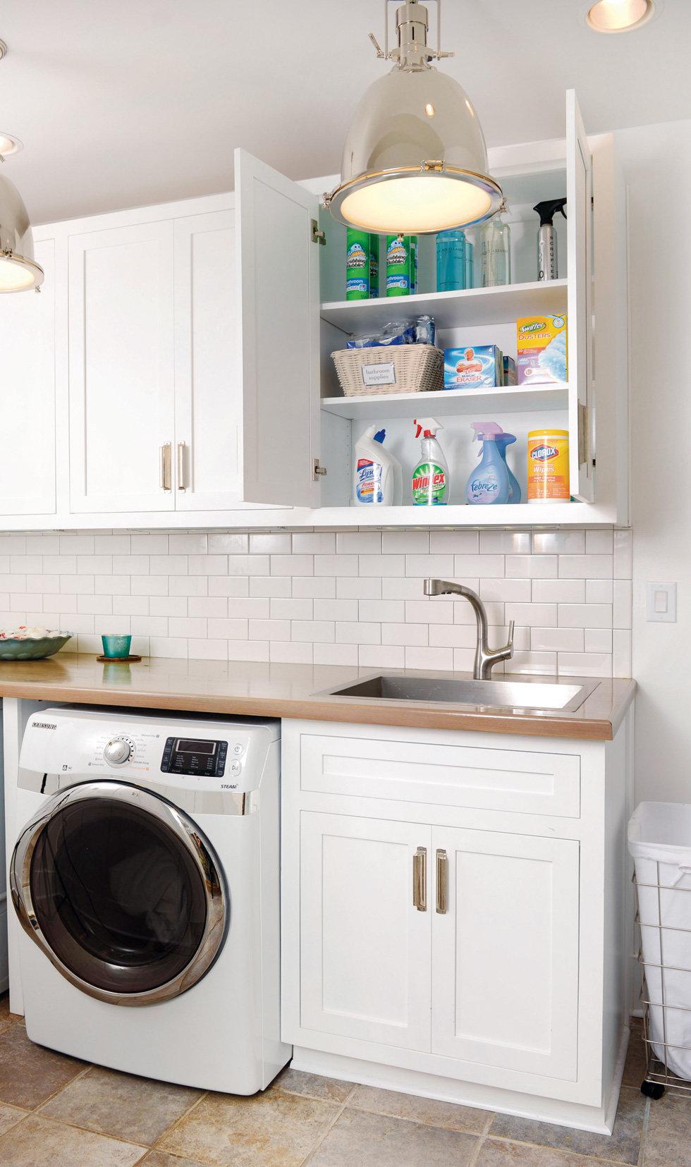Reforma tu casa; no te olvides del cuarto de lavado