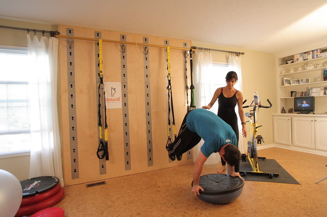 El gimnasio en casa remodela tu vivienda for Home exercise room design ideas
