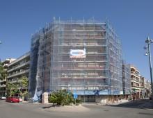 Rehabilitación fachada Calafell