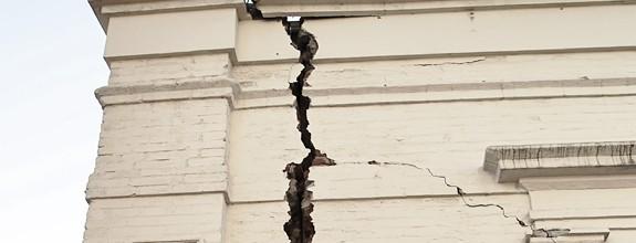 Rehabilitación de edificios por grietas